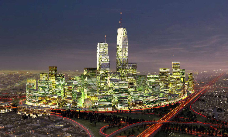 Aeroduct Iconic Project - King Abdullah Financial District Saudi