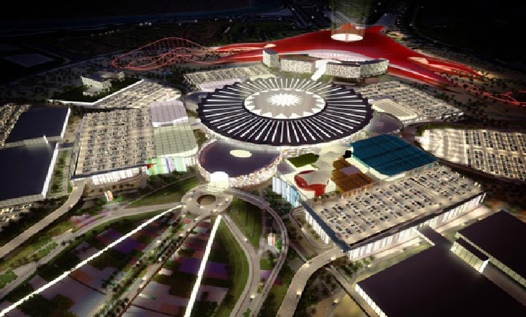 Yas Mall at Abu Dhabi