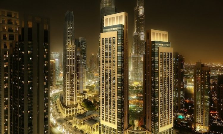 act one & Act two towers - Dubai