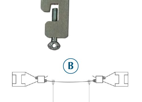 Catenary Hanger - Suspension Hanging System