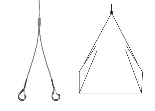 Y-Fir Snap Hook - Suspension Hanging System