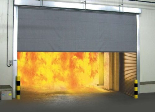 Aeroduct Fire Curtain | Fire Resistant Curtains